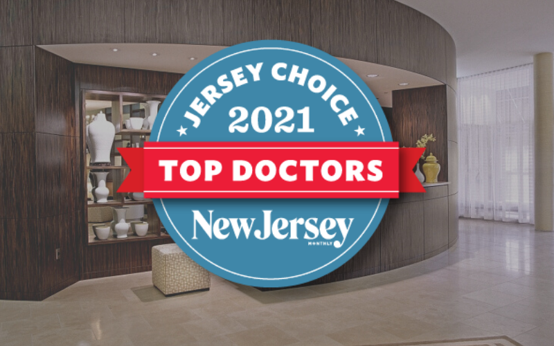 Short Hills Surgery Center's Doctors Among NJ Monthly's Jersey Choice 2021 Top Doctors